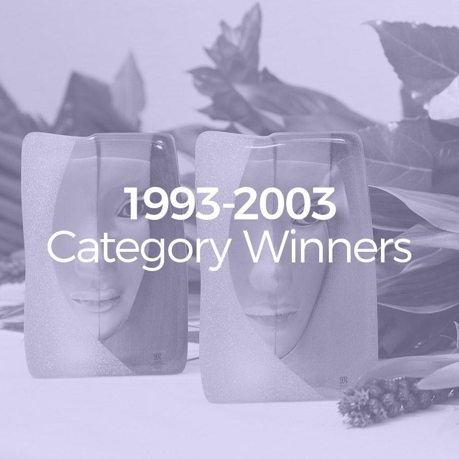 1993-2003 Category Winners