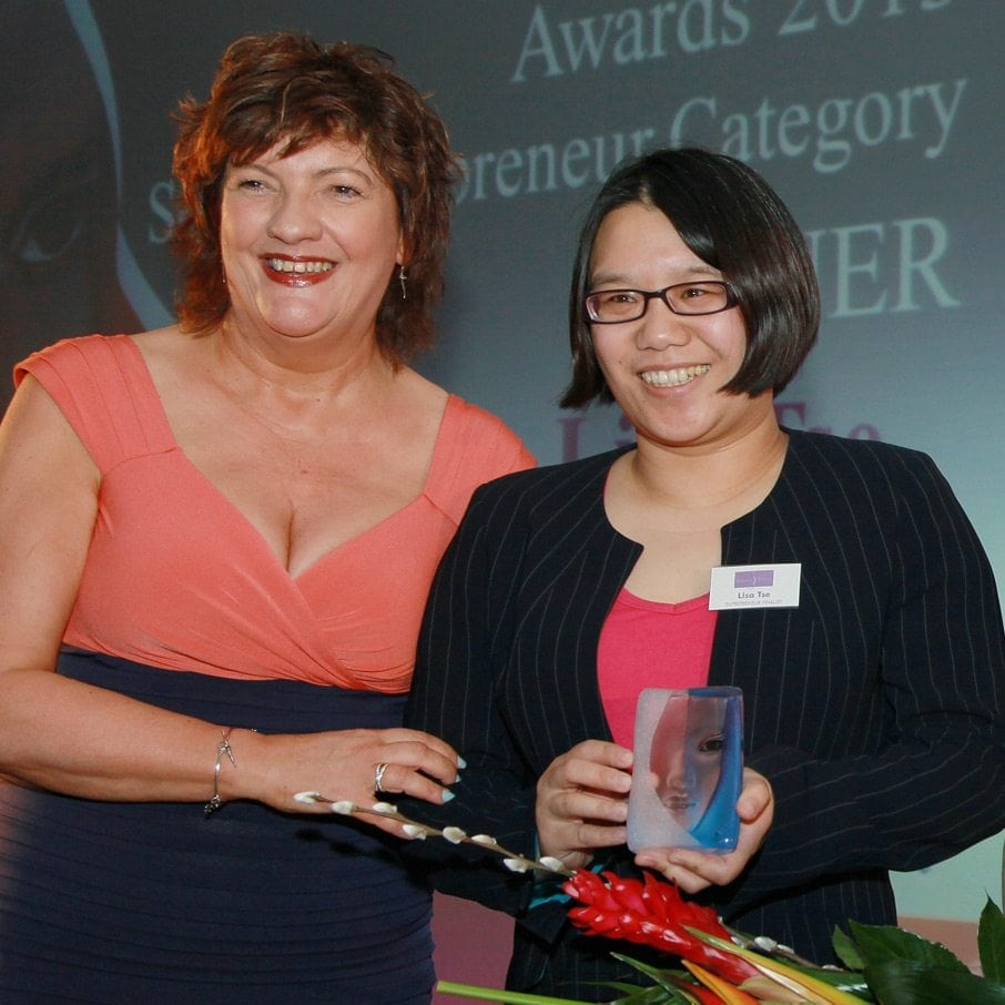 2013 Entrepreneur Winner Award Winner Lisa Tse