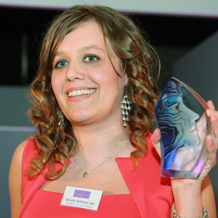 2013 Inspiring Young Woman Winner - Kirsty Ashton MBE