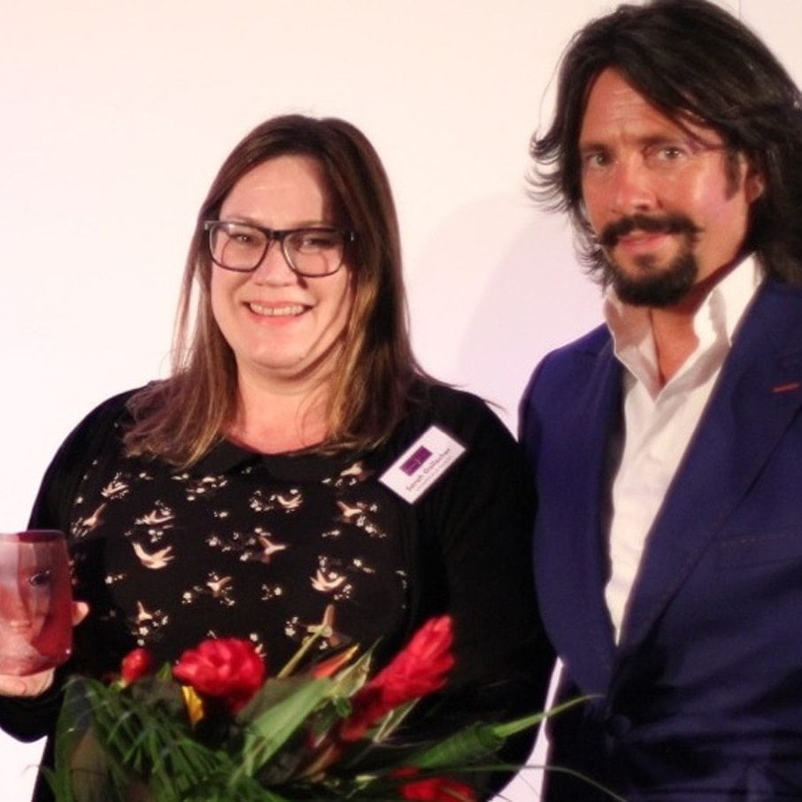 2014 Entrepreneur Award Winner Sarah Gallagher