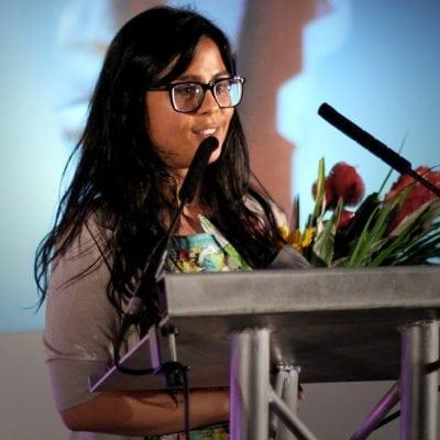 2014 Technology Award Winner Dr Sheila Kanani