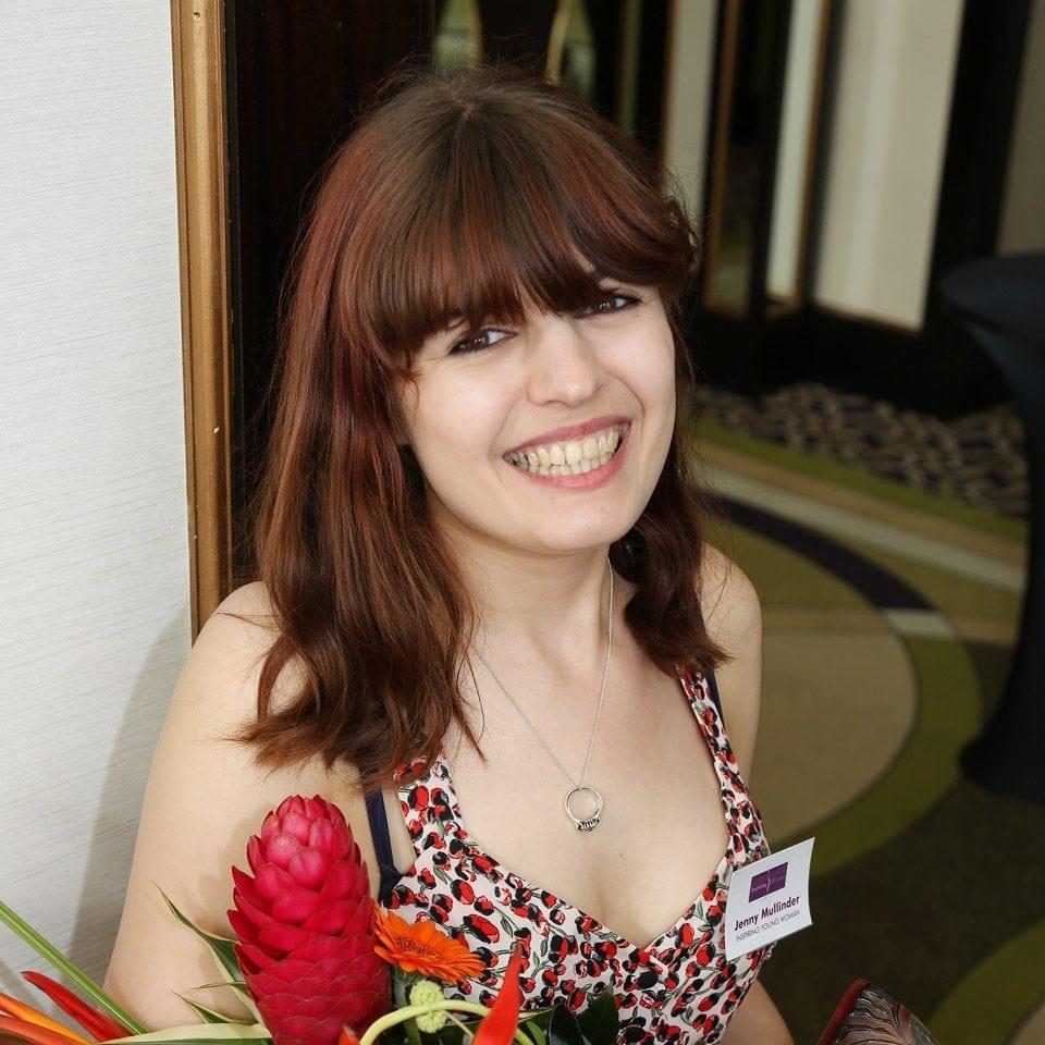 The Inspiring Young Woman Award 2016 Winner, Jenny Mullinder