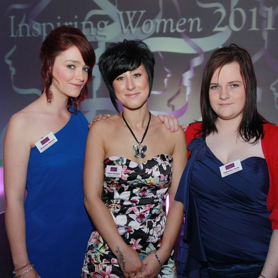 2011 Inspiring Young Woman Award Winners - Shaneice Roberts, Steff Needham and Cat Jones