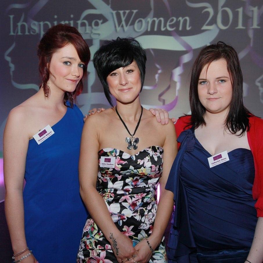 2011 Inspiring Young Woman Award Winners - Shaneice Roberts, Steff Needham and Cat Jones